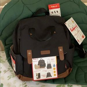 NWT babymel diaper bag backpack